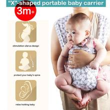Multi-functional Baby Carrier, Backpacks, Soft Breathable Infant Carrier, Adjustable Safe Baby Carrier Comfortable for All Season
