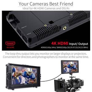 Image 5 - Feelworld FW279 7 인치 울트라 브라이트 2200nit DSLR 카메라 필드 모니터 4K HDMI 풀 HD 1920x1200 LCD IPS 고휘도 모니터