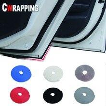8M Car Door Seals Sound Insulation U Shape Rubber car Weather strip Moldings Side Protection Strips