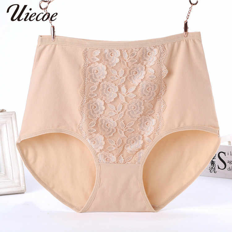 745c0b25b34 UIECOE Women s briefs Comfortable and cool bamboo fiber panties pure color  classic high waist underwear girl