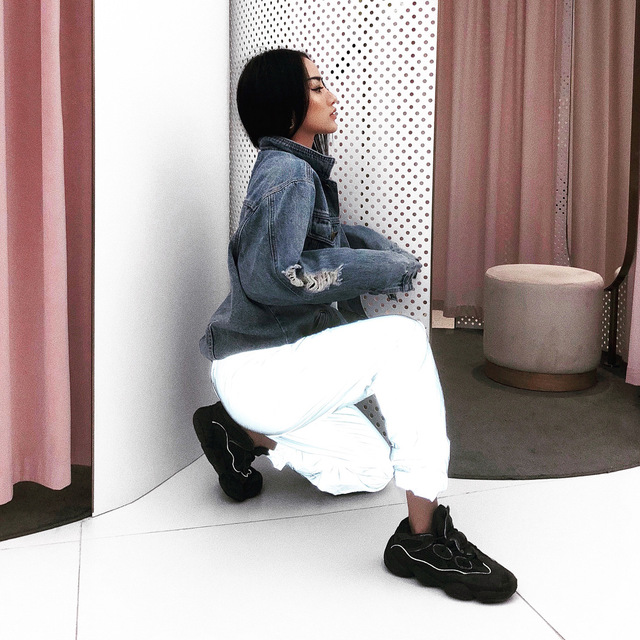 Dropshipper Reflective Hip Hop Pants Women Joggers Sweatpants Women's Night Light Shiny Blink Long Pants Sports Running Pants 4