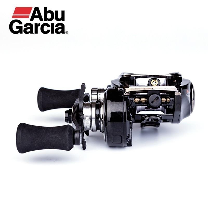 8.0: オリジナルアブガルシア 釣りリール 軽量カーボンリール