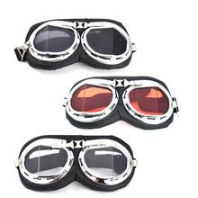 Motorcycle Harley Goggles Personality Adjustable Protective Gear Glasses Accessories Parts For Davidson Motor 3 Colors