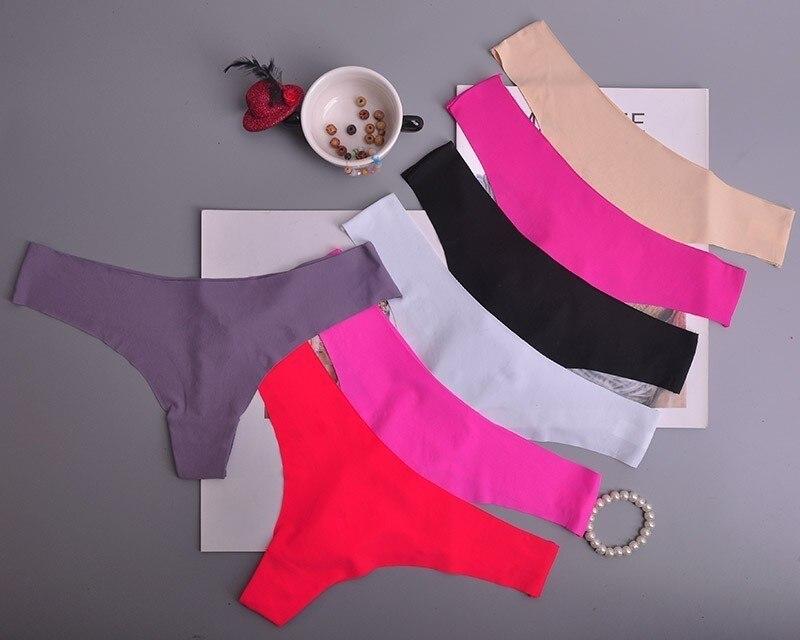 Women Panties Underwear Ultra-thin Viscose Seamless Briefs Comfort Low-Rise Ruffles Sexy Lingerie Summer New Hot 1pcs/Lot  Ac126