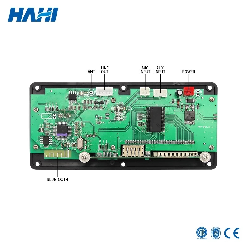Image 5 - 12V LCD Bluetooth MP3 Decoder Board WAV WMA Decoding MP3 Player Audio Module Support FM Radio AUX USB with folder-in MP3 Player from Consumer Electronics