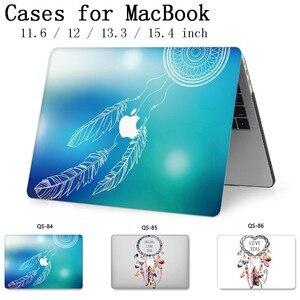 Image 1 - Notebook için MacBook Laptop Çantası Kol Için Yeni MacBook Hava Pro Retina 11 12 13.3 15.4 Inç Ekran Koruyucu klavye Kapağı