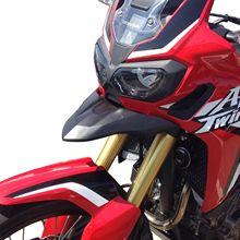 купить Motorcycle Parts Front Nose Fairing Beak Cowl Protector Headlight Fender for 2016 2017 2018 2019 Honda CRF1000L CRF 1000L Africa Twin дешево
