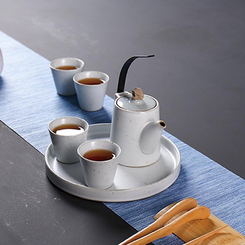 Thé chinois traditionnel GaiWan cuillères à café chine céramique Gaiwan théière porcelaine Pot ensemble thé plateau belle poterie thé ensembles
