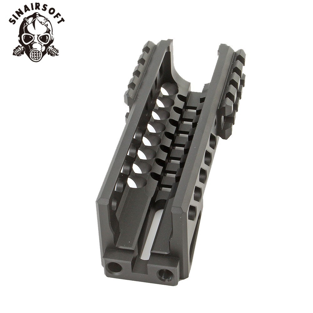 Image 5 - Hot Tactical Aks 47U Picatinny Rail Handguard Multi function Aluminum Cutting B11 Hunting Airsoft Paintball Army Accessories-in Paintball Accessories from Sports & Entertainment