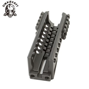 Image 5 - Hot Tactical Aks 74U Picatinny Rail Handguard Multi function Aluminum Cutting B 11 Hunting Airsoft Paintball Army Accessories