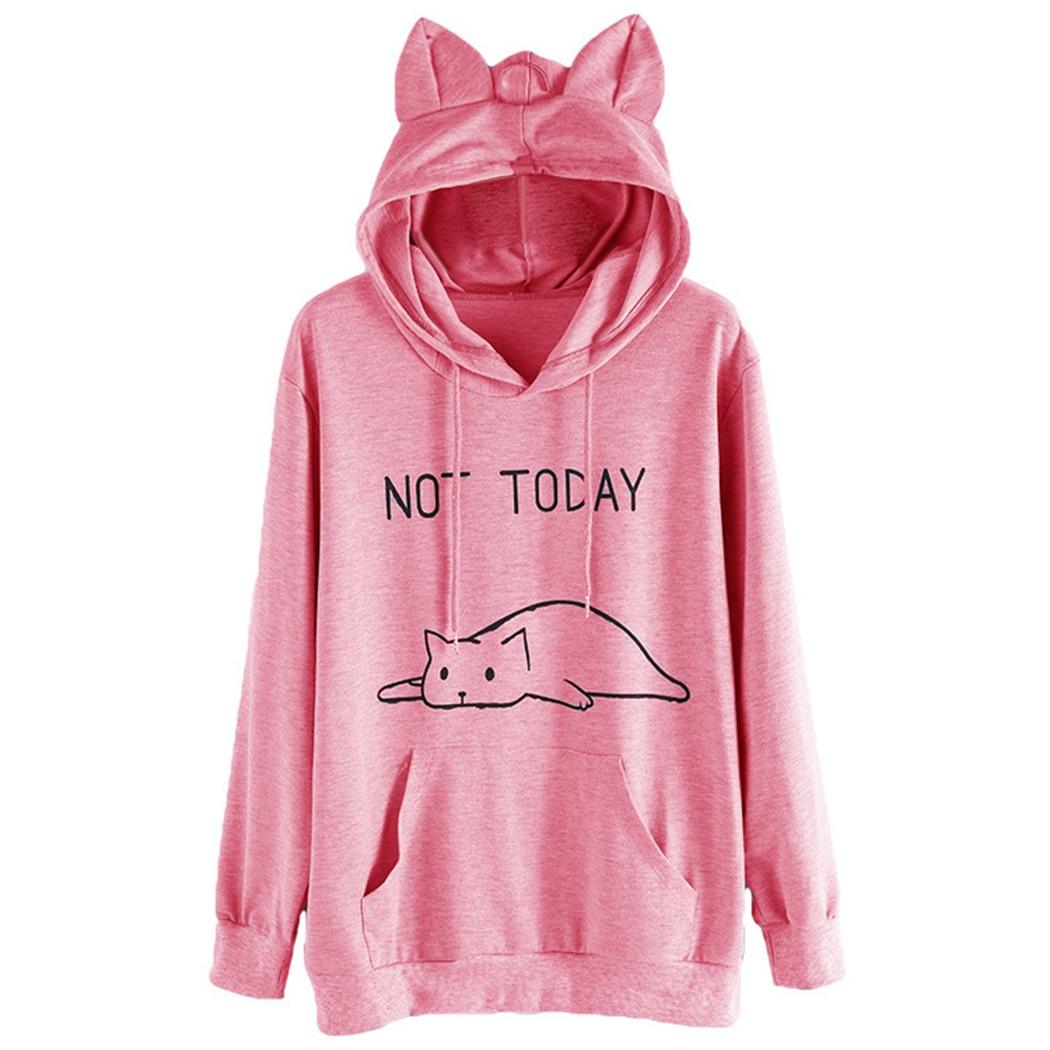 Oversized Hoodies And Sweatshirts Women Sweatshirts With -3114