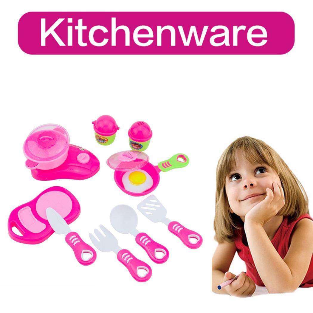12Pcs Kids Imitation Kit Kitchen Pretend Play Toy Children Above 3 years old Casual Educational Toy
