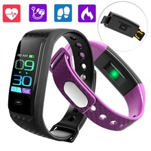 GIMTO Smart Electronics Sport Watch Men LED Heart Rate Blood