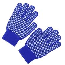 Уличная Верховая езда прыщи ладони перчатки защита рук свободный размер синий
