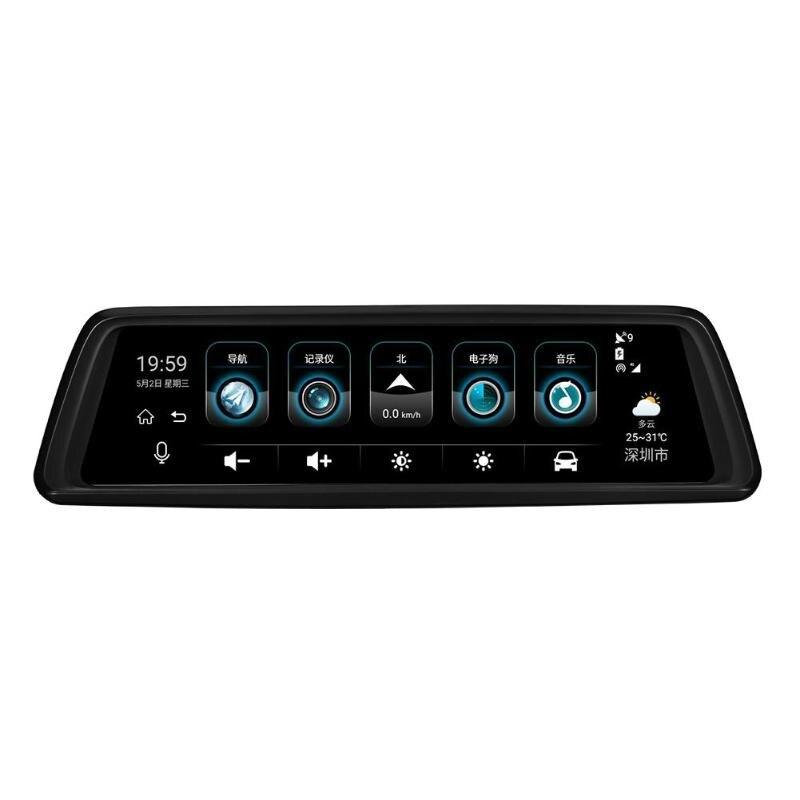 Car DVR Camera Dash-Cam Phisung V9 Video-Recorder Car-Rearview-Mirror Four-Lens Wifi