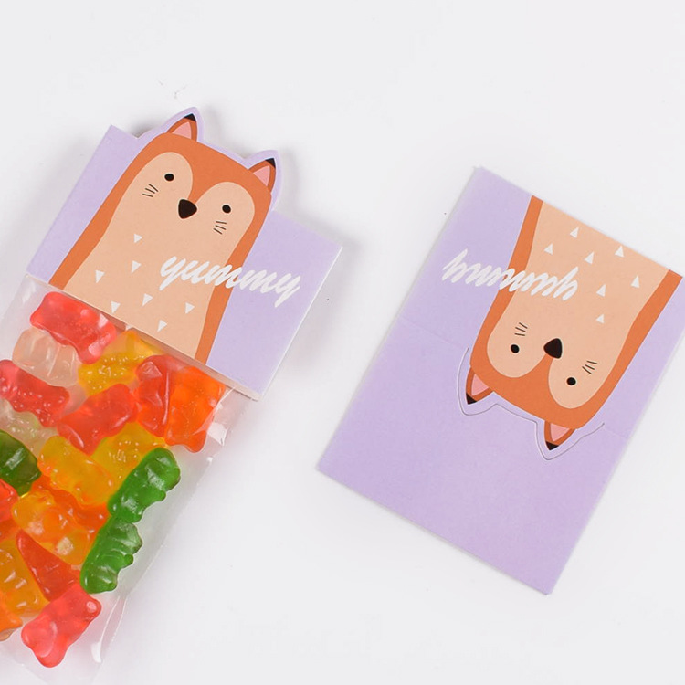 200 Pcs Clear Plastic Candy Bag Wedding Party Kids