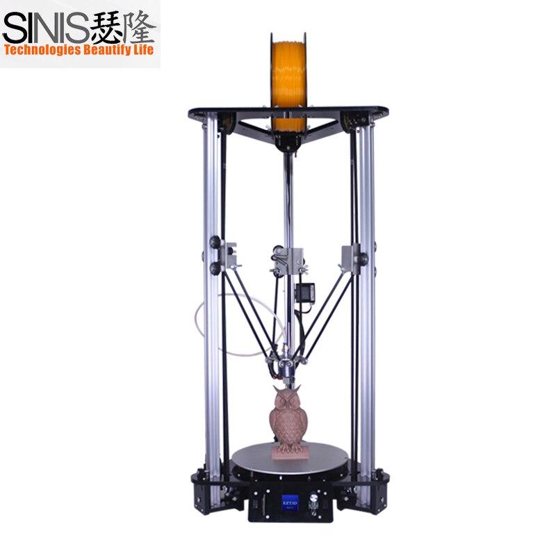 Date 3d imprimante haute précision laser gravure kossel delta 3d imprimante bricolage kit avec 3.5