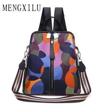 Купить с кэшбэком High Quality Backpack Women 2019 School Shoulder Bag Fashion Youth Backpack Teenager girls Male Travel Bags