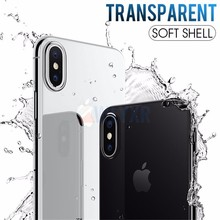купить Ultra Thin Soft Transparent TPU Case For iPhone 4S 5S 6 6S 7 8 Plus Clear Silicone Full Case For iPhone X XR XS Max Phone Case дешево