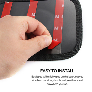 Image 5 - Car Storage Net Bag Pocket Organizer Car Styling Auto Interior Accessories Car organizer Stowing Tidying