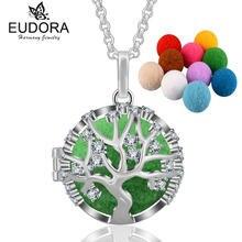 Ожерелье с подвеской eudora из эфирных масел и ароматерапевтическим