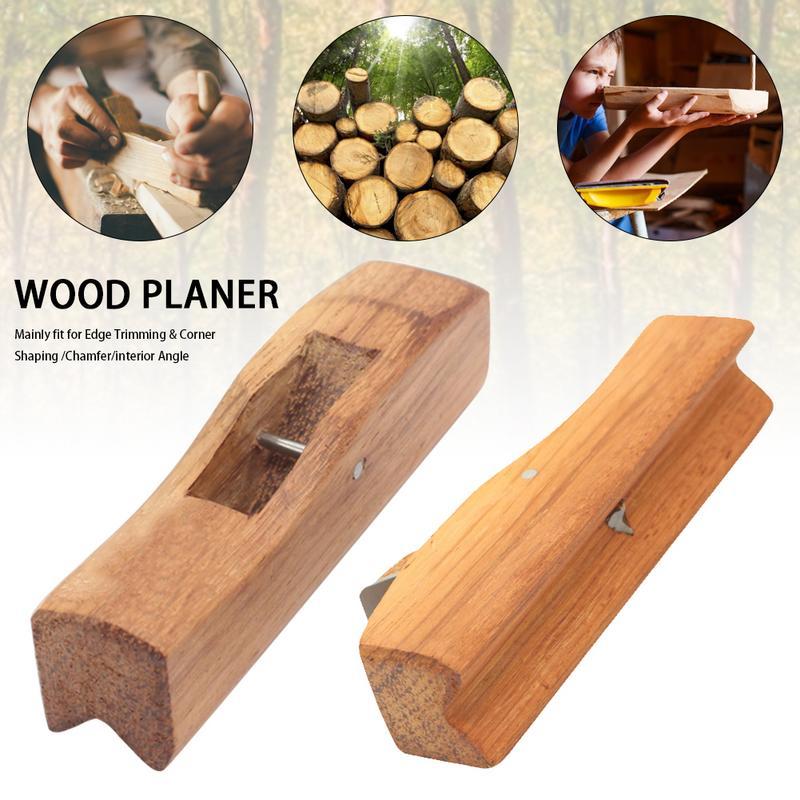 Indonesien Mahagoni Holz Hobel Hand Werkzeuge Radius Flugzeug Werkzeuge Für Rand Trimmen/ecke Gestaltung/fase/innen Winkel Werkzeuge Handhobel