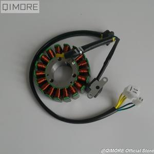 Image 2 - Магнитный статор 93 мм с пикапом для скутера Majesty YP250 Linhai AEOLUS VOG 250 257 260 LH170MM xingyΦ
