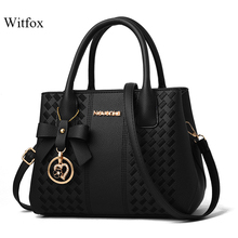 Witfox 3D Bow tassel handbags for women with long strap ladies shoulder bags china sale street wear shopping gift bag