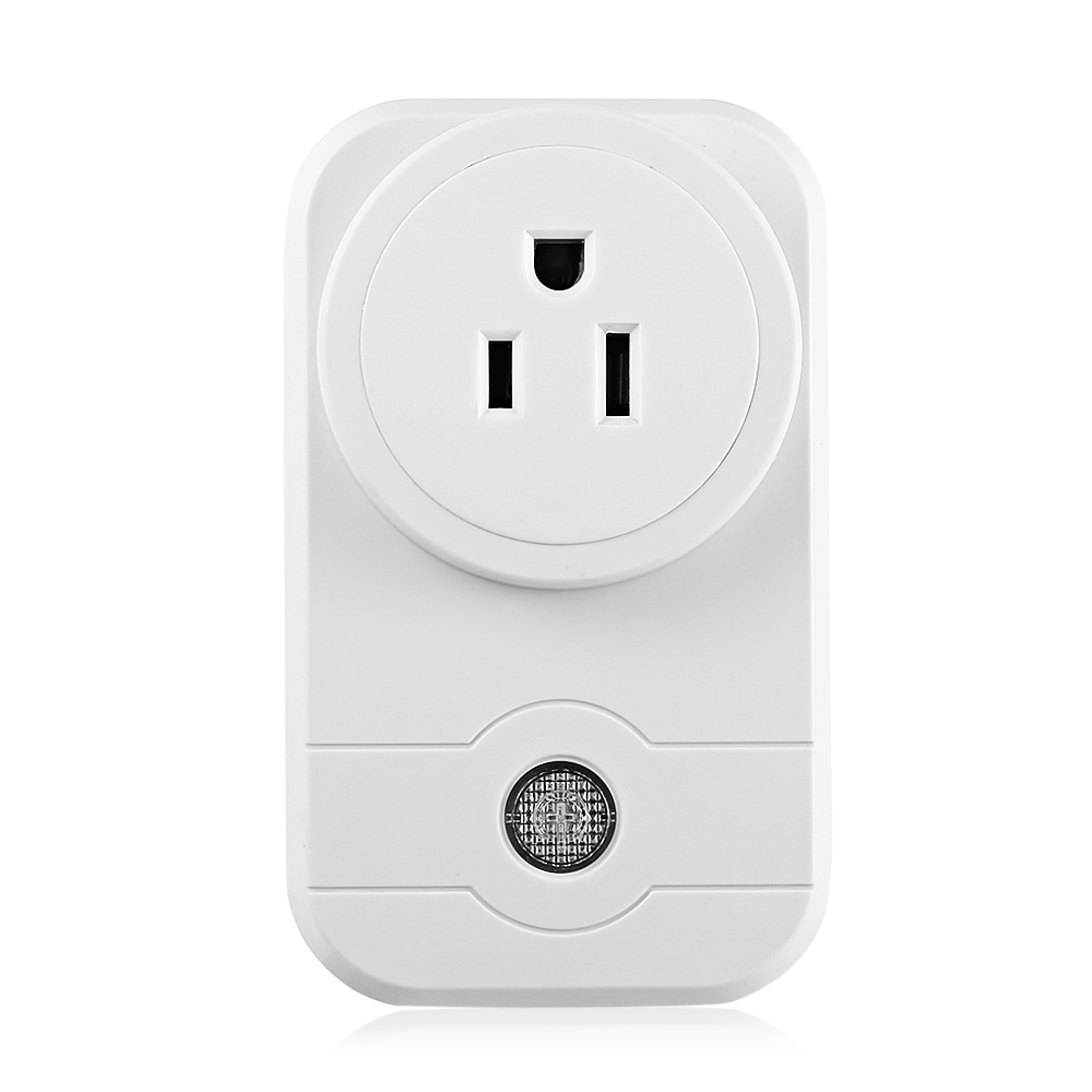 ON SALE LINGAN Smart Home Plug Wireless Power Outlets Light Switch Socket US Electrical Smart Plug With Remote Control Socket