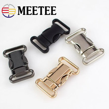 2pcs/4pcs 20mm 25mm Metal Belt Buckles Webbing Clip Snap Clasp Buckles for Bags Belt DIY Sewing Decoration Hardware Accessories цена