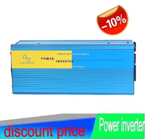DHL FedEx UPS Free Shipping 5000W Inverter onda sinusoidale pura 5000W peak 10000W pure sine inverter   24v 240v