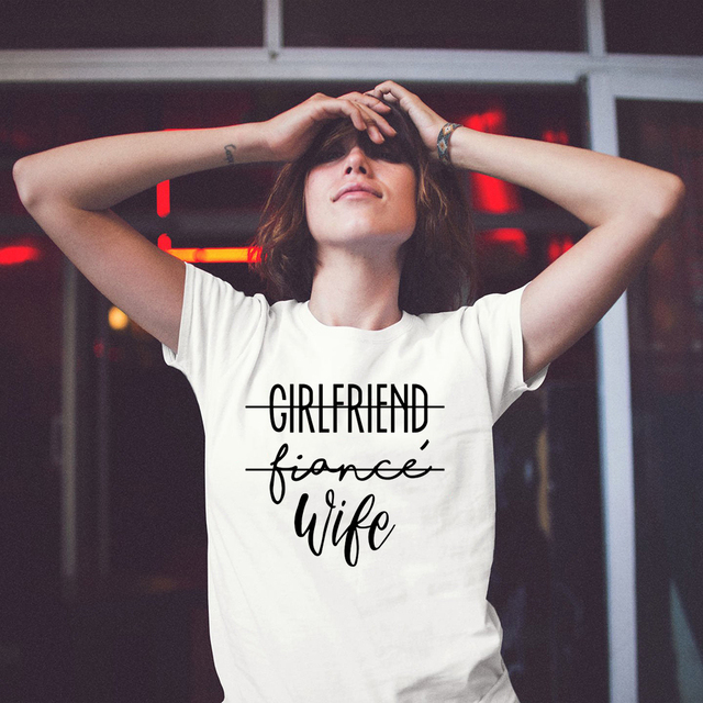 Girlfriend Fiance Wife T Shirt Future Mrs Tumblr Tee Engagement Gift Fiance Shirt Bachelorette Party Tops