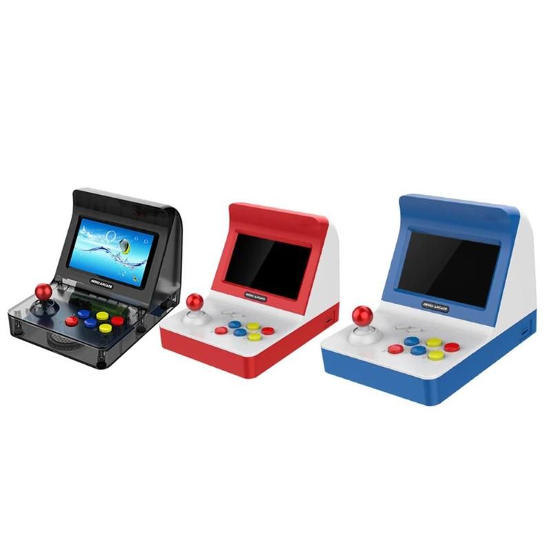 RS-07 4.3 inch Portable Retro Mini Handheld Game Console 64bit 3000 Video Games classical Family Game Console GiftRS-07 4.3 inch Portable Retro Mini Handheld Game Console 64bit 3000 Video Games classical Family Game Console Gift