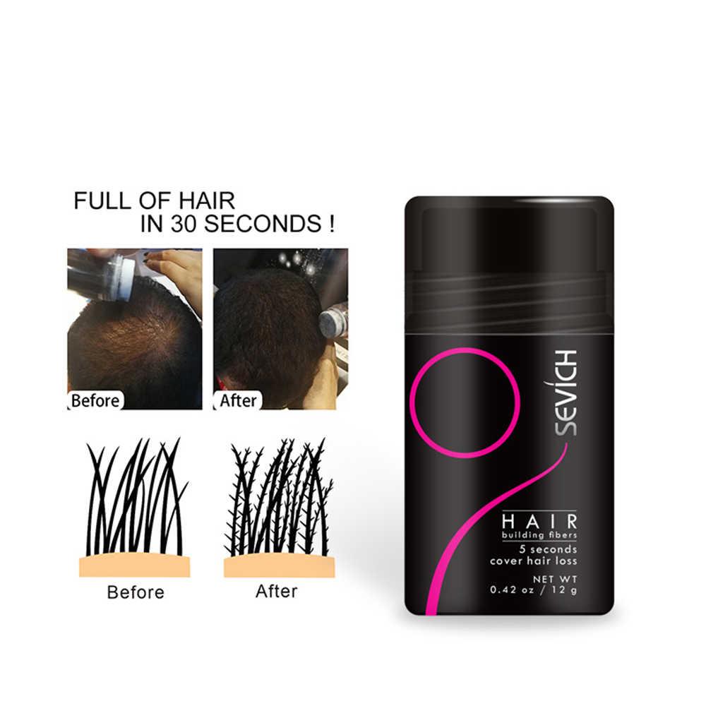 12G keratynowe grubsze włókna do budowy włosów pełna korektor włosy natychmiast do napełniania do napełniania pogrubienie włosów proszki dla mężczyzn i kobiet