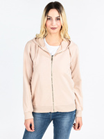 Sweatshirt hooded zipper