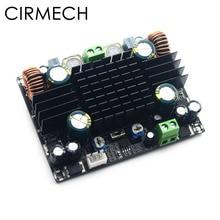 CIRMECH TPA3116 yüksek güçlü araba ses amplifikatörü kurulu Mono 150W TPA3116D2 amplifikatör dahili çift güçlendirici sistemi amplifikatör