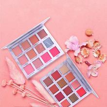 Professional Eyeshadow Pallete Eye Shadow Powder Pigment Cosmetic Waterproof Matte Makeup Marble
