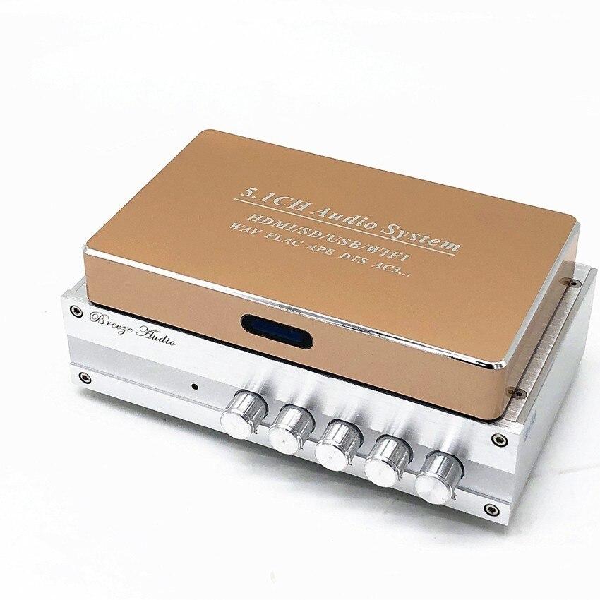 DA668 5,1 канальный аудио усилитель + 5,1 канальный музыкальный/видео плеер аудио декодер система домашнего кинотеатра