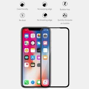 Image 3 - for iPhone XS Max 11 pro max プロマックス強化ガラス Nillkin XD 最大フルカバー for iPhone X XR 7 8 Plus プラスアンチグレアフィルム