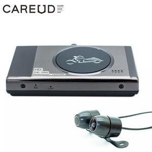 Image 4 - Universal Motorrad Kamera DVR 3,0 Zoll HD Display Motor Dash Cam Mit Spezielle Dual track Objektiv Breite Bereich Vorne hinten Recorder