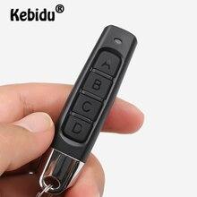 مفتاح إرسال لاسلكي صغير من Kebidu يعمل بالريموت كنترول يعمل بالتحكم عن بعد تردد 433 ميجاهرتز ومزود بـ 4 أزرار ومفتاح السيارة للباب