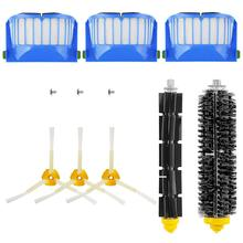 Replacement Brush Kit Maintenance Kit for Roomba 600 Series Cleaning Kit Brush Filter