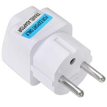 цена на Pohiks 2018 Universal UK US AU To EU European Charger Power Socket Plug Adapter Travel Converter