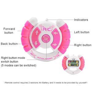 Image 5 - Wczesne dzieciństwo edukacja inteligentny elektryczny pilot Robot LED Light Singing taniec pełna prezentacja zabawkowy zdalnie sterowany Robot