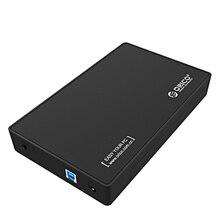 Orico 3,5 дюймов внешний жесткий диск коробка Sata 3,0 Usb 3,0 Hdd чехол инструмент поддержка Uasp протоколы жесткий диск Корпус EU/US Plug