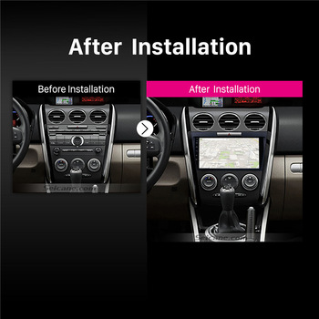 Seicane Pour 2007 2009 2010 2011 2012 2013 2014 MAZDA CX-7 2Din Voiture Radio GPS Android 8.1 9 Pouces Lecteur Multimédia Soutien DVR