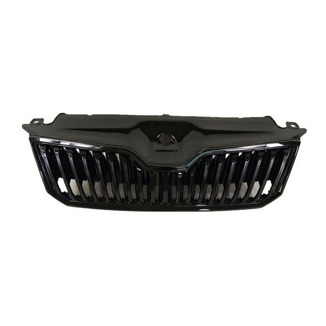 Mouldings Car Styling Decoration Automobiles Accessories Grills Upgraded Parts Front Net 13 14 15 16 17 18 FOR Skoda Superb