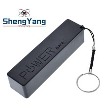 ShengYang USB power Bank чехол Комплект 18650 зарядное устройство DIY Box Shell Kit черный