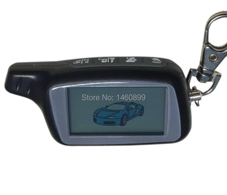 1,5 v 434 mhz X5 LCD Fernbedienung Schlüssel Fob Für Russische Version Fahrzeug Sicherheit Zwei weg auto alarm system TOMAHAWK X5 Keychain