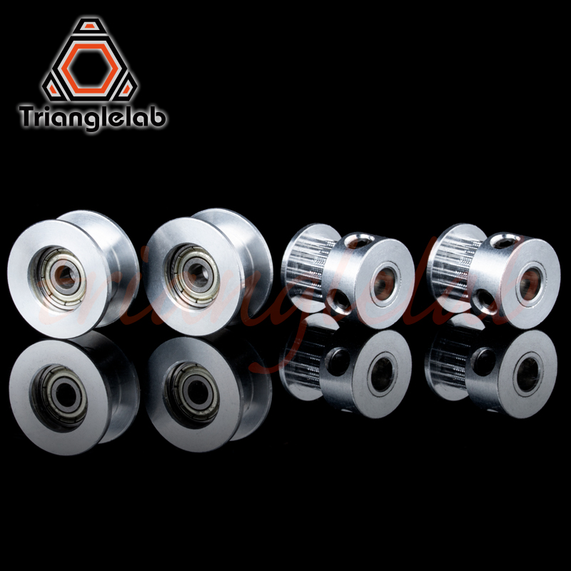 Trianglelab GT2-16 Pulley  Bearing Housing Idle Pulley Set For Original Prusa I3 MK2.5/S MK3/MK3S Kit Synchronous Wheel